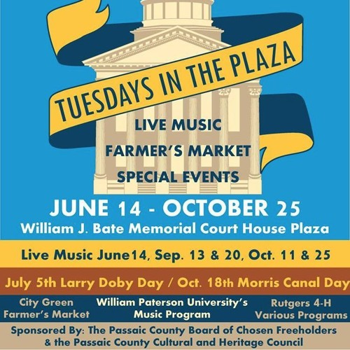 Passaic County: Tuesdays! Poetry on the Plaza!