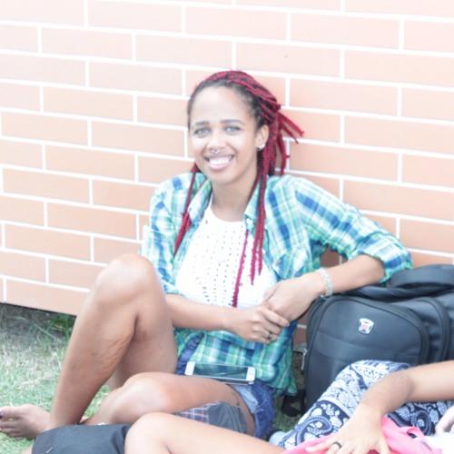 Luana Vitória, estudante de Agronomia
