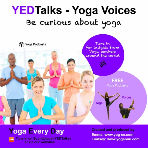 Lorraine Close of ECYO sharing yoga with Veterans. YEDTalk Yoga Voices supported by B-Light.se