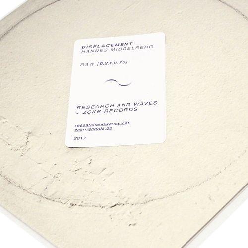 """RAW[0.2,y,0.75] Hannes Middelberg - Displacement (12"""", Vinyl -s/ sided))"""