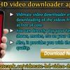 Vidmate HD video downloader application.mp3