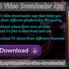 Vidmate HD Video Downloader App.mp3