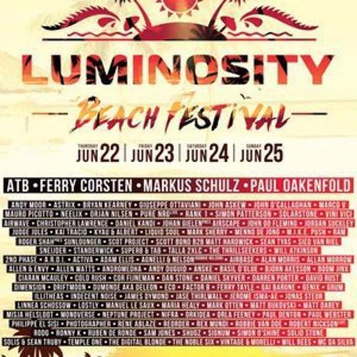 Simon Patterson – Live @ Luminosity Beach Festival 2017 (Bloemendaal) – 25-06-2017