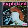 the EXPLOITED - Blown To Bits - live and loud cd