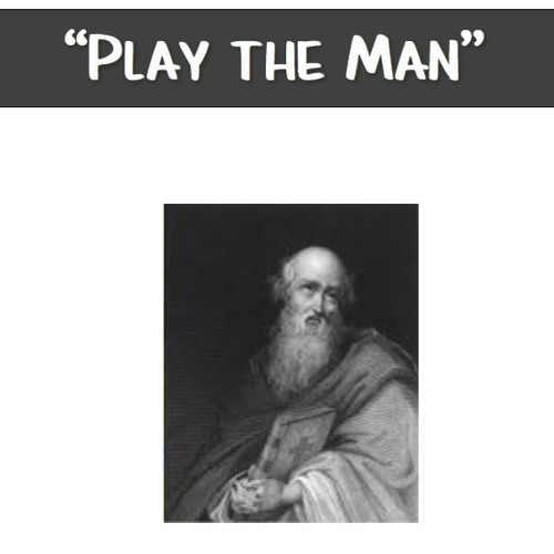"""""""Play the Man"""""""