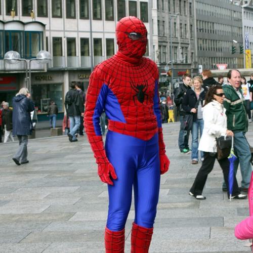 #13 Spider-man met Michael Minneboo. Wonder Woman, Baby Driver, The Driver, Funny Games... Juni 2017