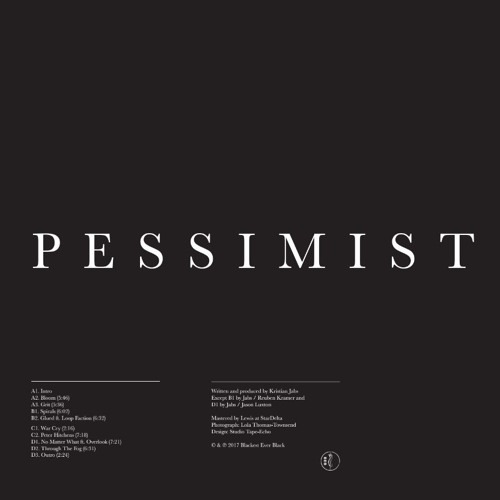 Pessimist - album preview