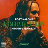 Post MaIone - CongratuIations (Hidden & Reign Edit) [FREE DL]