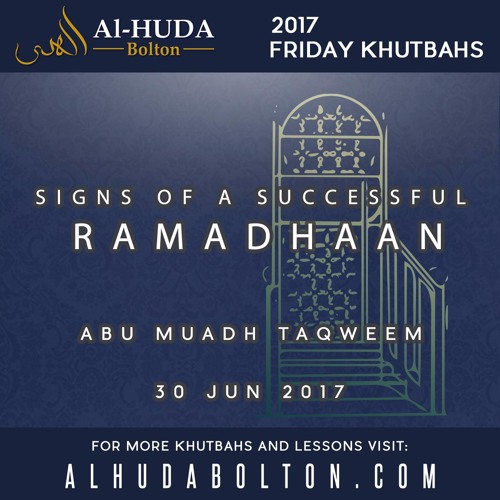 Signs Of A Successful Ramadhaan