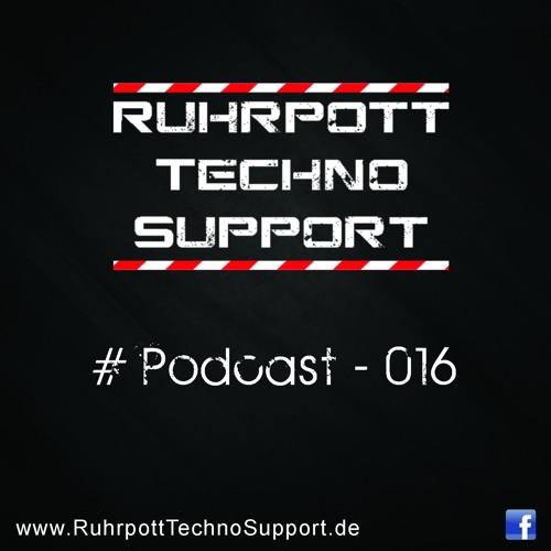 Ruhrpott Techno Support - PODCAST 016 - JUNKY