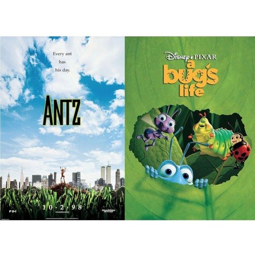Twinsies Episode 002 Antz And A Bug S Life By Andytwood Andy