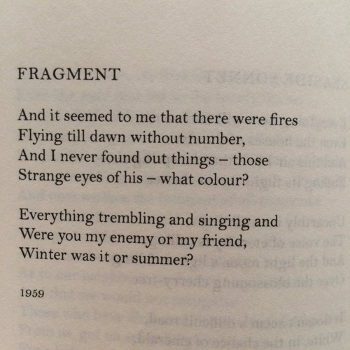 Fragments for piano