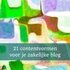 ep5 21 contentvormen voor je zakelijke blog