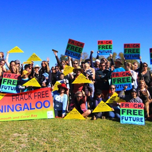 Lock the Gate campaigner Simone Van Hattem with the latest from the anti-fracking campaign in WA