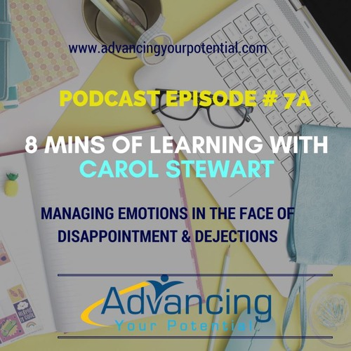 8 Mins of Learning With Our Guest Carol Stewart