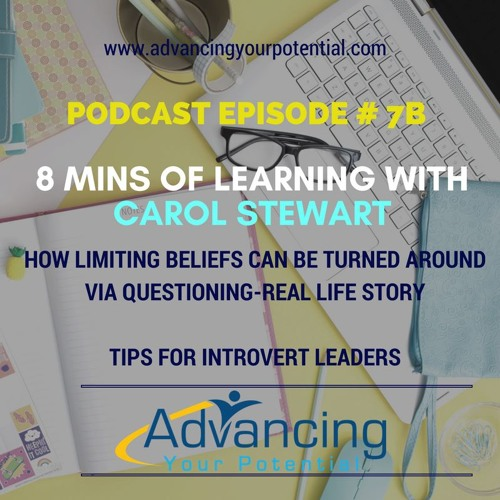 8 Mins of Learning With Our Guest Carol Stewart Continued