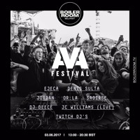 OR:LA Boiler Room x AVA Festival DJ Set Artwork