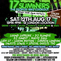 17 Summers The Peoples BBQ Cookout DANCEHALL PROMO MIX 1.5