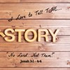 2017-07-02: I Love to Tell THE Story - No Lord...Not Them!