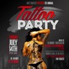 1ST ANNUAL TATTOO PARTY PROMO CD JULY 14