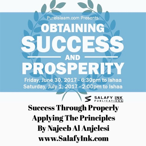 Success Through Properly Applying The Principles By Najeeb Al Anjelesi