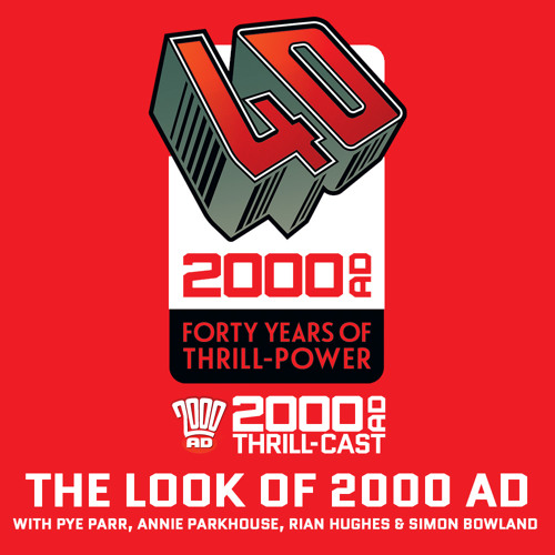 40 Years of Thrill-power Festival: The Look of 2000 AD panel
