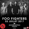 Foo Fighters - These Days / My Hero (live at AccorHotels Arena, Paris, France)