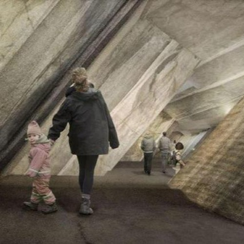 Stooszyt: Gletschergarten wandert in den Fels