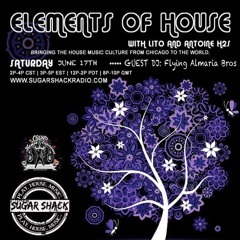 Elements of House June 17 Edition Interview & Mix The Flying Almaria Bros