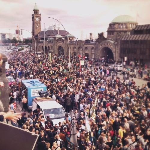 Lieber tanz ich als G20 Demorave, Hamburg (05.07.2017)