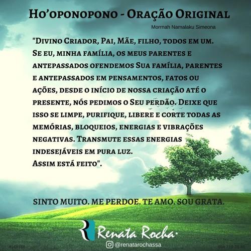 HO'OPONOPONO - FORMA BREVE @renatarochassa