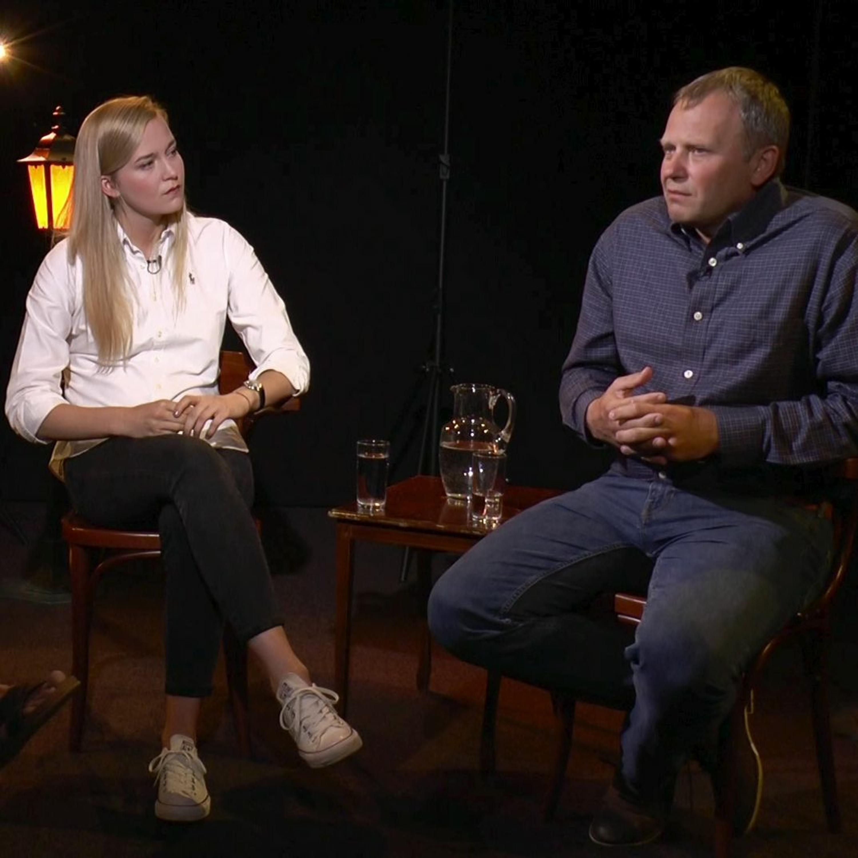 .pod lampou: Otec a dcéra Ledeckí, Rómovia a Andrej Kiska