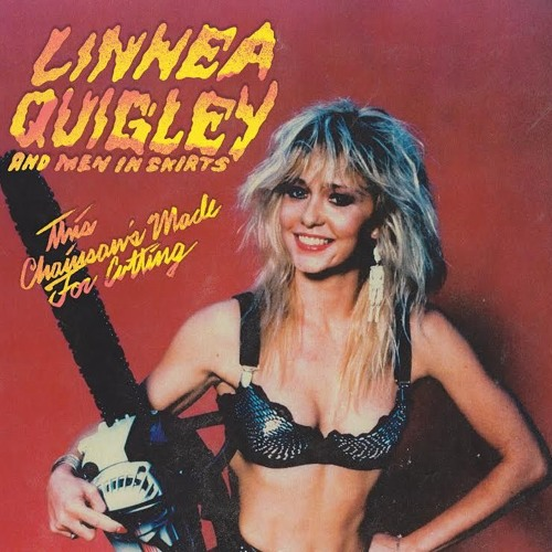 Linnea Quigley & Men In Skirts - This Chainsaw's Made For Cutting
