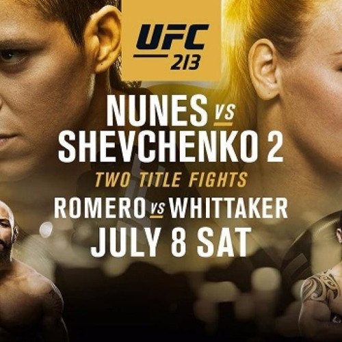 The MMA Analysis - UFC 213 and TUF 25 Previews
