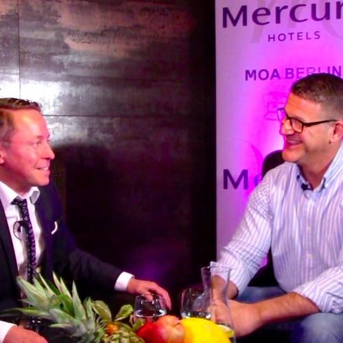Steven E. Kuhn Coach Trainer #TOPfive - Interview Concierge Mercure MOA Berlin