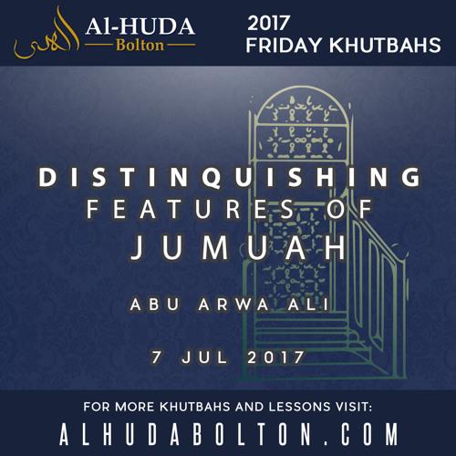 Distinquishing Features of Jumuah
