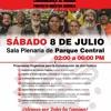 La cita es este Sábado 8 de Julio de 2:00 a 6:00 pm  al ABANDERAMIENTO COMUNIDADES AL MANDO
