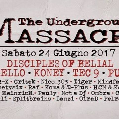 @Underground Massacre (24-6-17) - Bergamo