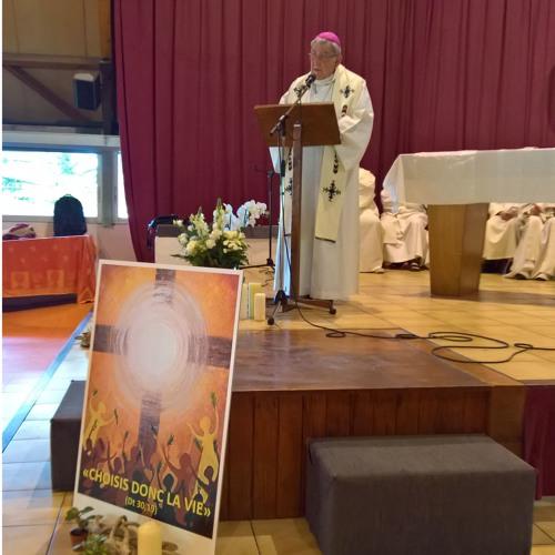 pélerinage  lourdes Sermon de Mgr Guyard    12 Mai 2017