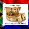 (DJ MT) -  Top 10 House Hits: South Africa - 9 July 2017