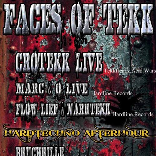 Marc & O_LivE @ Faces of Tekk pres. Crotekk  // Club Halle-luja  08.07.2017