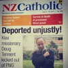 Southern Cross: Controversy over deported NZ missionary, PNG elections, Samoa and Rainbow Warrior