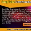 Download SnapTube app for Moto mobiles