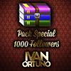 PACK 1K IVAN ORTUÑO FT. DJ MURSIANO, ALBERTO PRADILLO & MIGUEL MARTINEZ. GRACIAS A TODOS