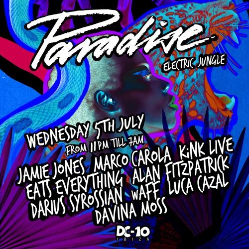DARIUS SYROSSIAN at DC10 Ibiza - Live Recording From PARADISE July 2017