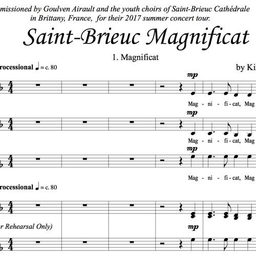Saint-Brieuc Magnificat - Movement 1