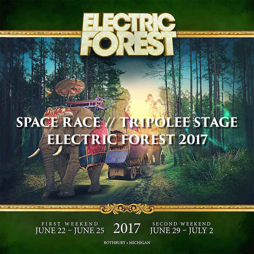[CR003] Space Race @ Tripolee Stage // Electric Forest 2017