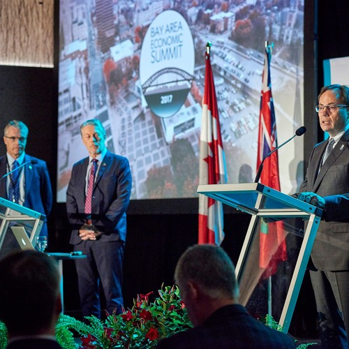 Ron McKerlie and Mayors Announce Climate Partnership at BAES 2017