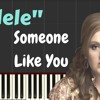 Adele - Someone Like You  LYRICS (Easy Piano Tutorial) |  Synthesia Music Lesson