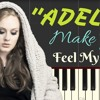 Adele Lyrics - Make You Feel My Love | Synthesia Piano Tutorial